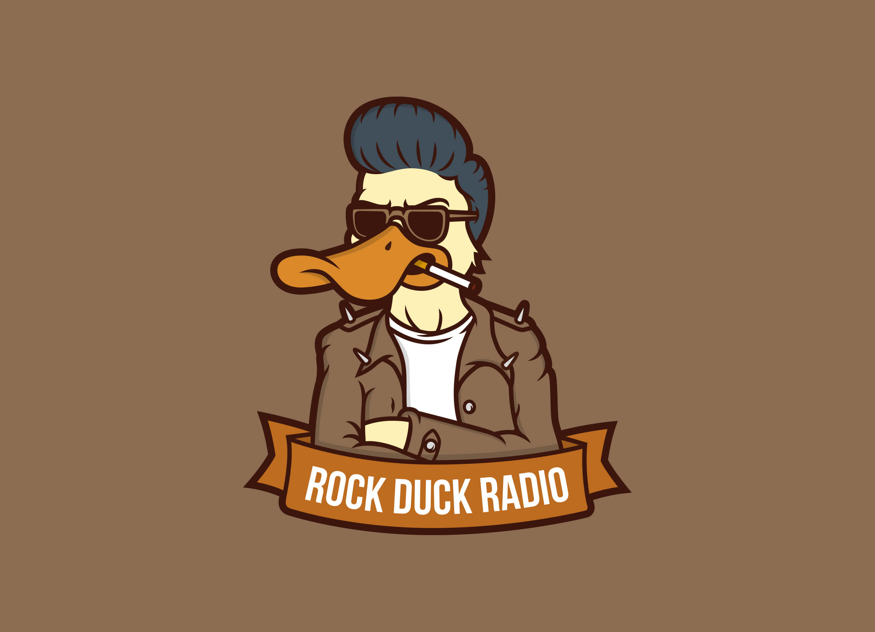 Rock Duck Radio Logo